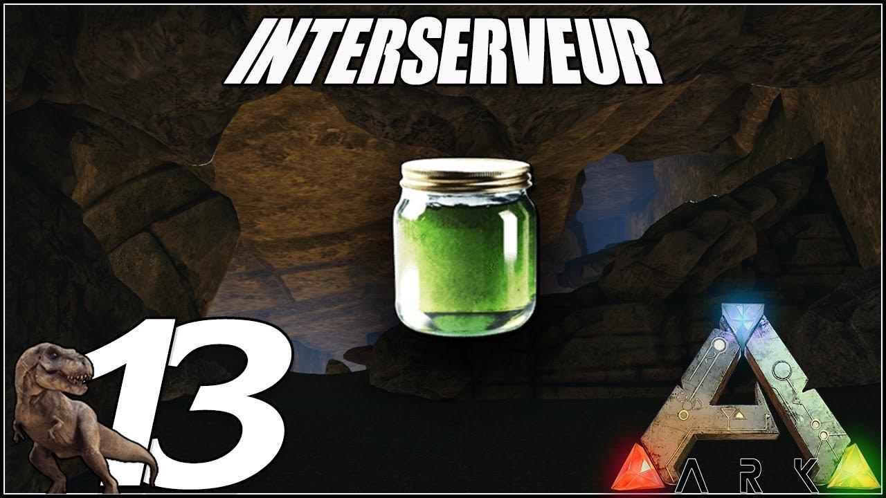 VENIN DE NAMELESS ET PREMIÈRE GROTTE : ARK Survival Evolved FR Interserveur  Ep13