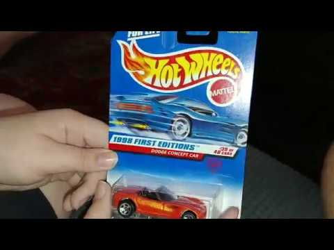1998 Hotwheels Dodge Concept Car (Copperhead) | Car Unboxing and review.