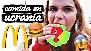 Comiendo en un McDonalds en Ucrania  | Marina Yers