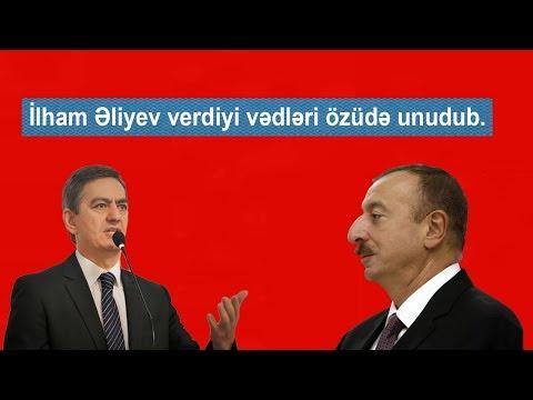 İlham Əliyev verdiyi heç bir vədi yerinə yetirməyib-Əli Kərimli