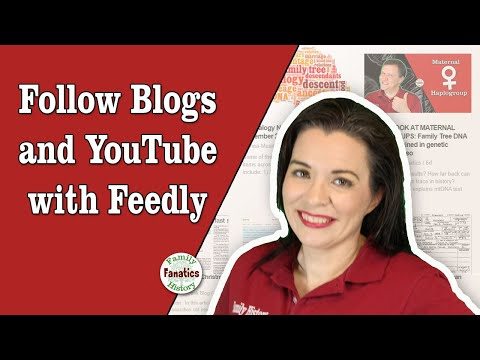 How To Follow Blogs And Videos In One Place - Find RSS Feed For YouTube Channel