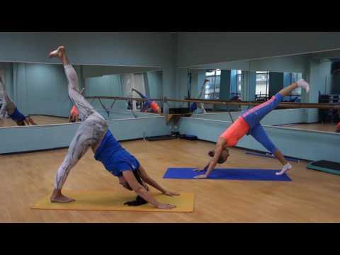 фитнес дома для женщин видео от елены беловой