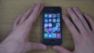 iPhone 4S iOS 8 Final Public - Review (4K)