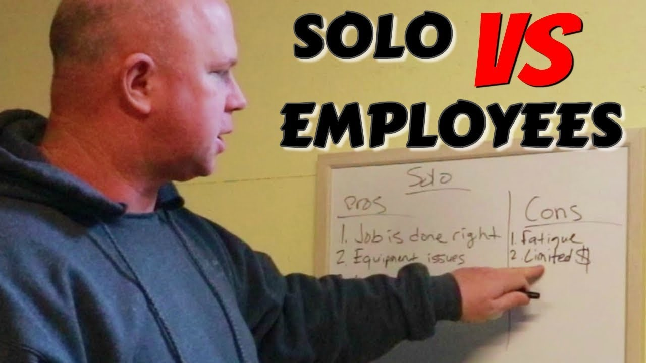 Solo Lawn Care VS Having Employees Pros & Cons