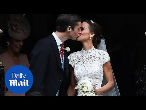 In 60 seconds: Pippa Middleton's wedding - Daily Mail