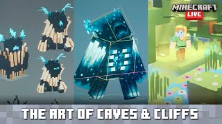 Minecraft Live: The Art of Caves & Cliffs