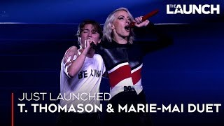 "T. Thomason Performs ""Hope"" With Marie-Mai 