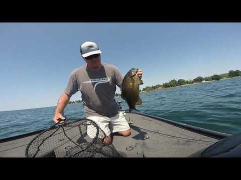 Dropshot Fishing Lake Ontario SMB In Henderson Harbor NY