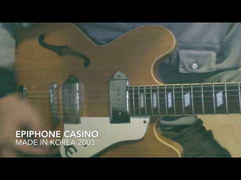 epiphone casino sound