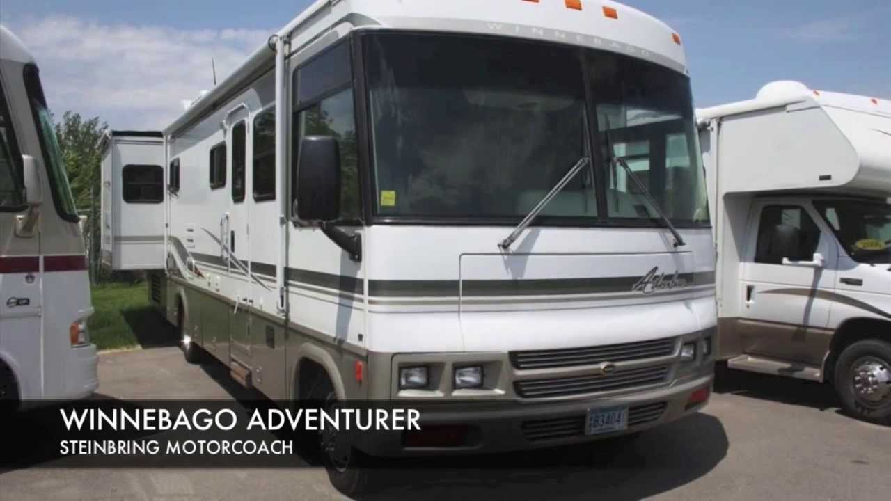 New This Is A 2000 Winnebago Adventurer 35U Class A Motorhome This Unit Is Great For Tailgating, Family Camping, Or Seeing The County In Retirement Just Park, Lower The Hydraulic Jacks From The Drivers Seat And Start Having Fun! This Unit