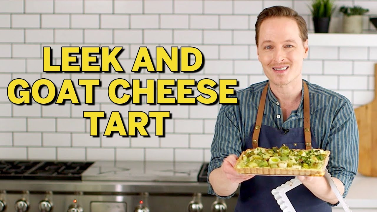 How to Make Leek and Goat Cheese Tart | THE SLICE | Everyday Food