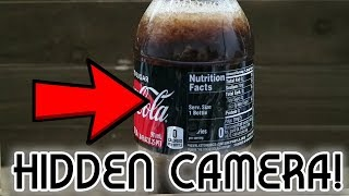 Secret Coke Bottle SPY CAM! - Weekend Hacker #1803
