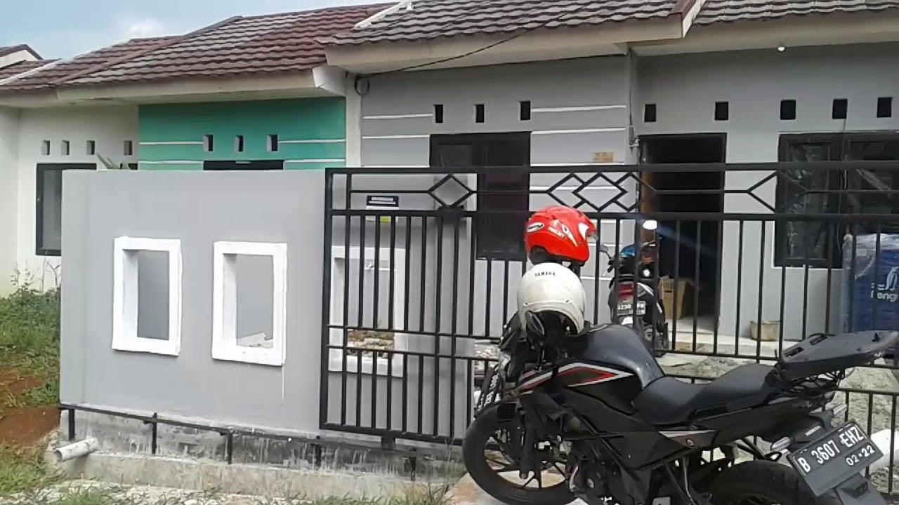 Proses renovasi rumah subsidi green citayam city  YouTube