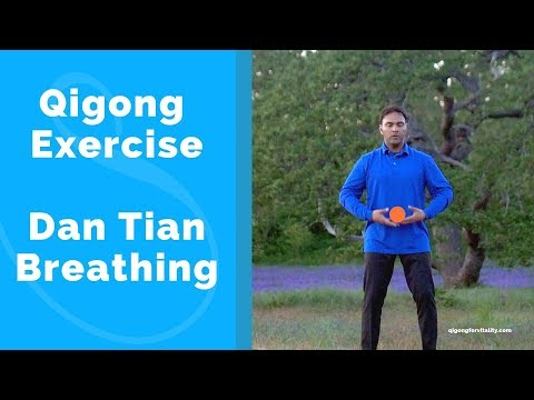 Qigong Exercise   Dan Tian Breathing with Jeffrey Chand