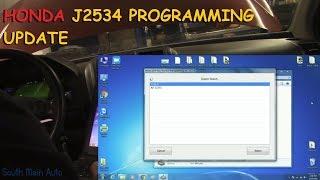 Honda J2534 Flash Programming