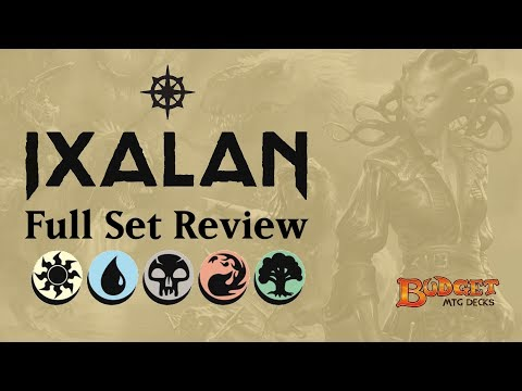 Ixalan   Full Set Review    Multicolored, Artifacts and Lands