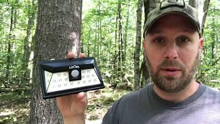Home Security Lights: Litom Super Bright 24 LED Outdoor Motion-Sensor Solar Lights Wide Angle