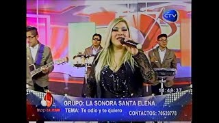 Sonora Santa Elena TE ODIO Y TE QUIERO (en Tropicalísimo)