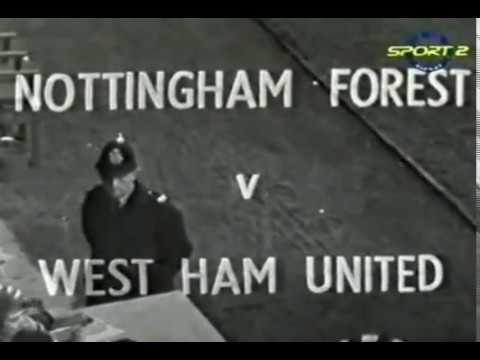 (9th October 1965) Match Of The Day - Nottingham Forest v West Ham United