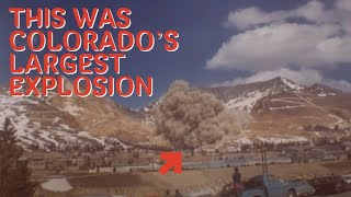Largest Mine Blast in Colorado
