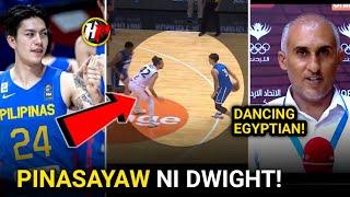 PINASAYAW ni Dwight Ramos ang isang EGYPTIAN Player! Gilas vs Egypt King Abdullah Cup sa Jordan!