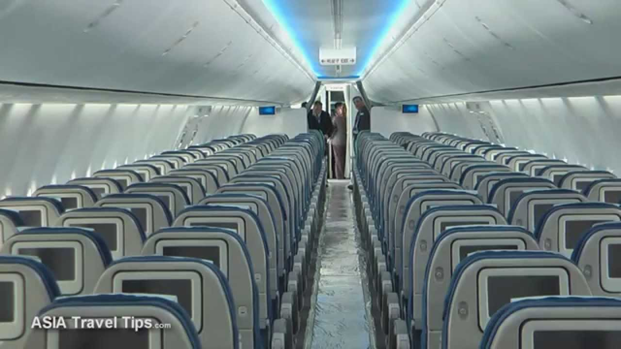 korean air boeing 737 900er with boeing sky interior tour hd youtube