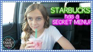 STARBUCKS HAS A SECRET MENU?
