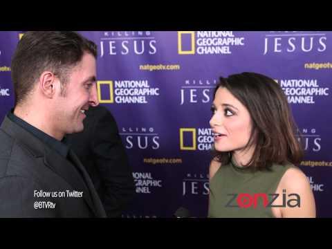 Stephanie Leonidas At National Geographic's Killing Jesus NY Premiere
