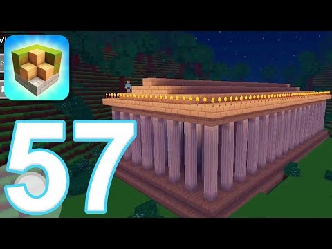 Block Craft 3D: City Building Simulator - Gameplay Walkthrough Part 57 - Parthenon (iOS) - 동영상