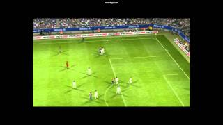 Strangest Goal Ever Scored in Pro Evolution Soccer 2012