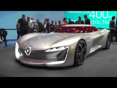 Top 5 concept cars from the 2016 Paris motor show