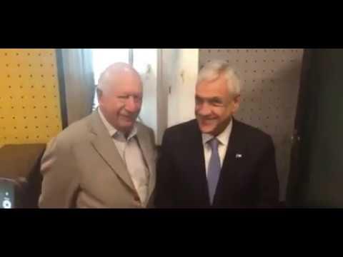 Primer debate de Piñera con Lagos 2017