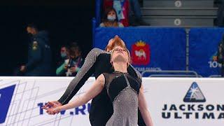 Пары Женщины Произвольная программа Чемпионат России по фигурному катанию 2021