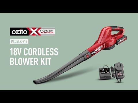 Ozito Power X Change 18V Blower Kit PXCBLK-218