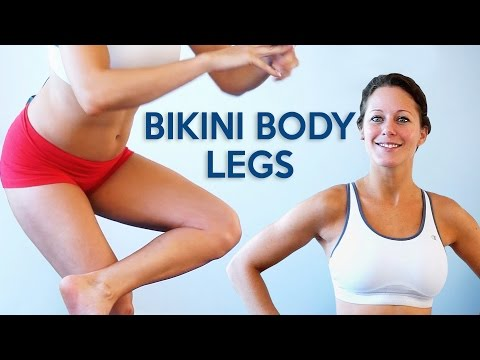 Leg & Glute Workout for Beginners | 20 Minute Home Fitness Routine with Dena, Bikini Body Part 3
