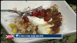Sunday Brunch:  Julie Wheeler's Slim Spinach & Chicken Quesadillas Part Ii