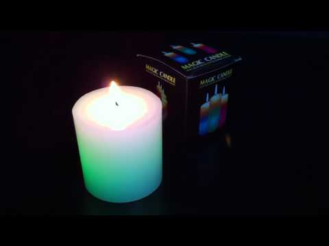 LED Colour-Phasing Magic Candle from Electric Planet (2)