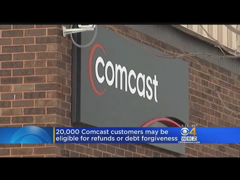 Comcast Agrees To Pay Refunds, Cancel Debts For 20,000 Mass. Customers