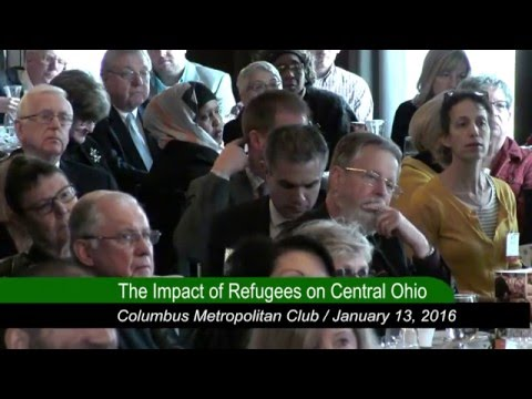 Columbus Metropolitan Club:  Immigration Nation: Impact of Refugees on Central Ohio
