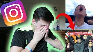 REACTING TO MY OLD INSTAGRAM *Embarrassing*