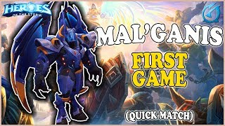 Grubby | Heroes of the Storm - Mal'Ganis - FIRST GAME - QM - Alterac Pass