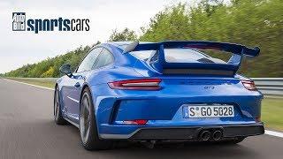 Porsche 911 GT3  (991.2):  0-300 km/h Messung / Supertest / Drift - AUTO BILD SPORTSCARS