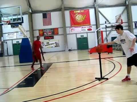 747f5b5ad0b Basketball Ball Training Aids Coaches The Arm Defender - YouTube