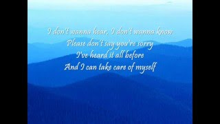 Madonna-Sorry with lyrics