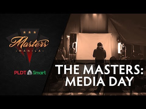 Media Day | The Manila Masters