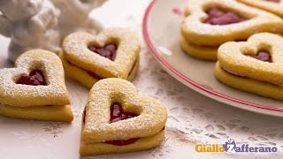 Valentine's Day Linzer Tarts - Recipe