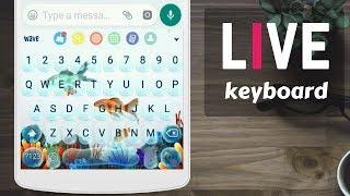 Live animated keyboard, best Android keyboard, keyboard effects on android phone screenshot 2