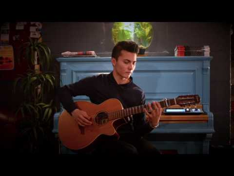 Music for a Found Harmonium - solo guitar live loop -