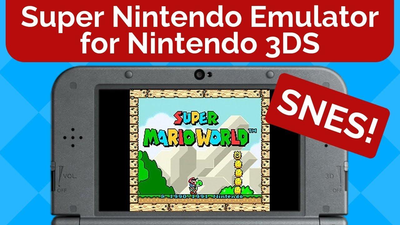 SNES Emulator for Nintendo 3DS