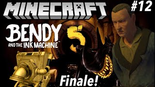 Bendy and the Ink Machine Chapter 5 in Minecraft Part 12 (Finale) - Map Showcase